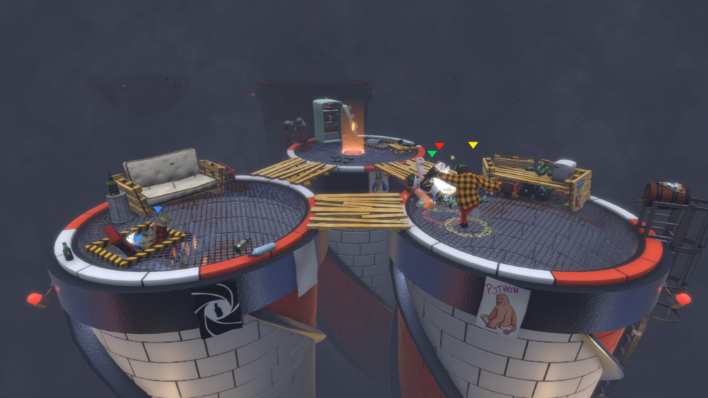 Screenshot from the Chimney level